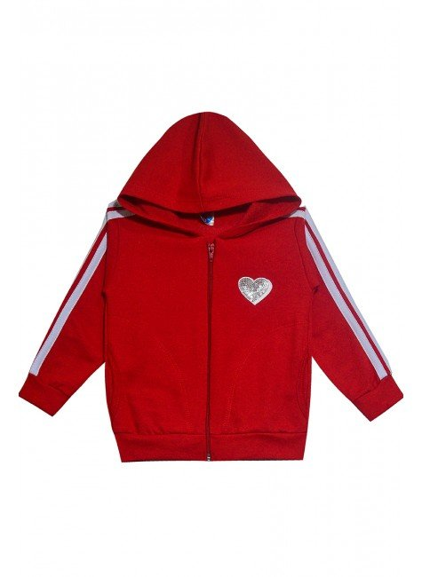 2913 casaco vermelho