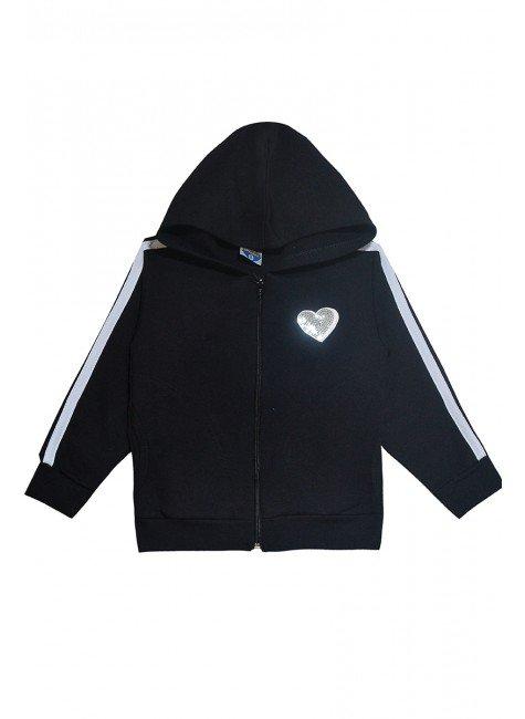 2913 casaco preto
