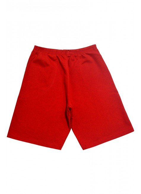 838 bermuda masculina vermelha