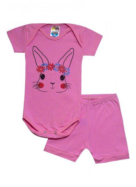 460 body rosa claro coelho