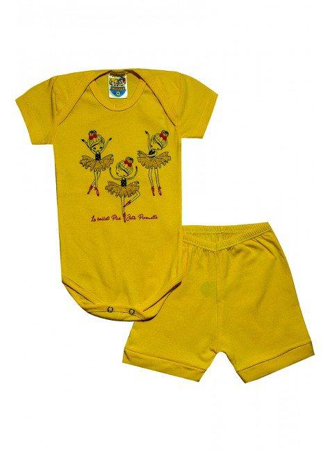 404 body bailarina amarelo