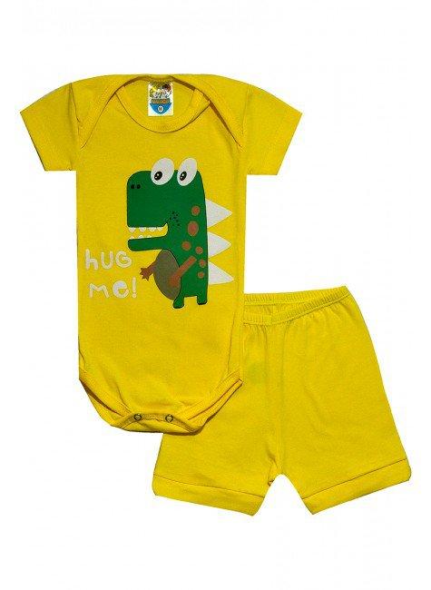 423 body dinossauro amarelo