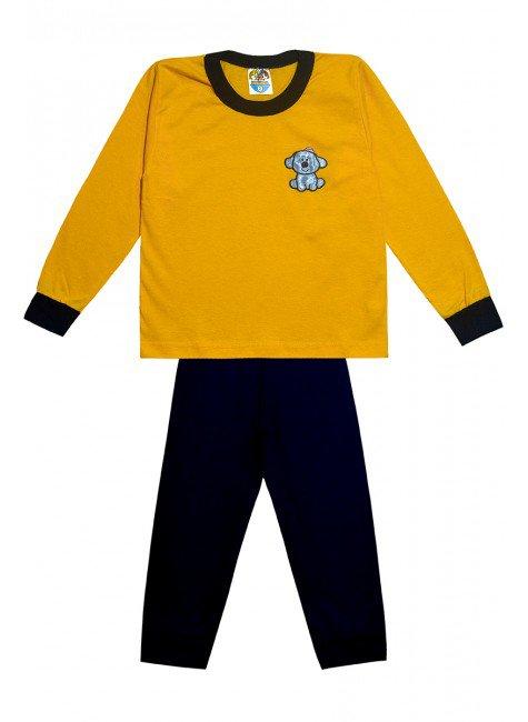 362 conjunto ursinho amarelo