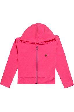 534 casaco moletom rosa neon