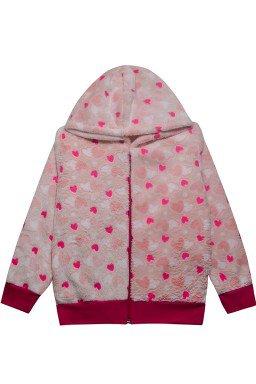 0002 casaco de pelo coracao