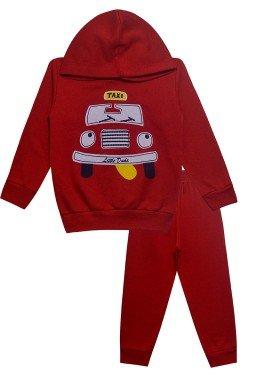 0015 conjunto taxi vermelha