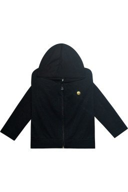 981 casaco moletom preto ref 2945