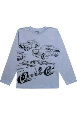 0061 camisa branca de carros