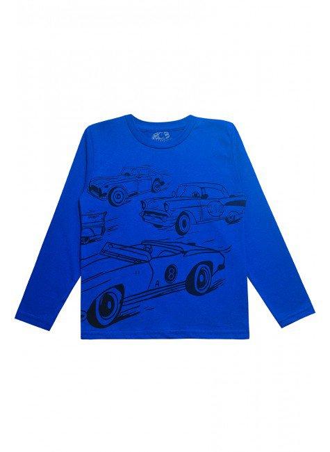 0062 camisa azul de carros