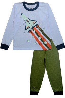 0066 conjunto foguete verde
