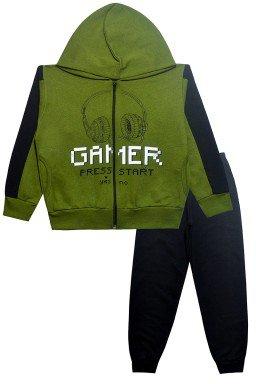 0077 conjunto gamer verde