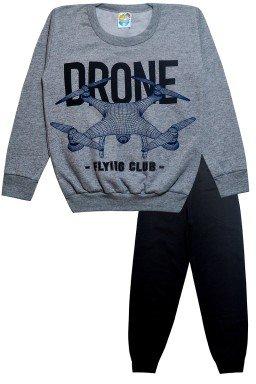 0077 conjunto drone cinza