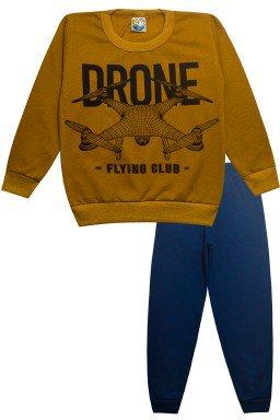 0089 conjunto drone mostarda