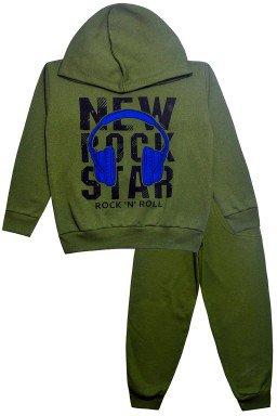 0085 conjunto new rock verde