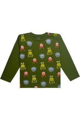 0125 camiseta verde musgo
