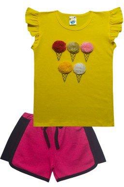 conjunto amarelo