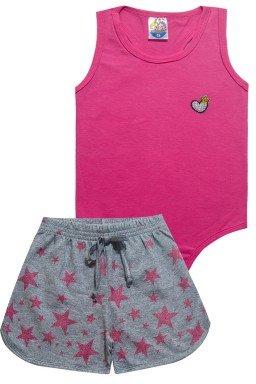 conjunto body 5393 rosa escuro