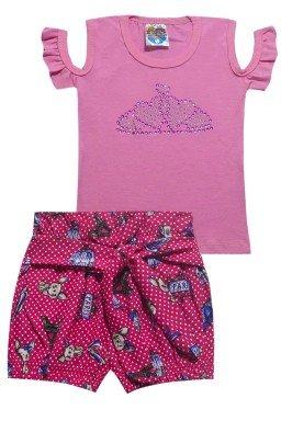 conjunto blusa rosa clara 5204