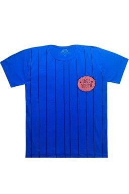camiseta de listra azul bic