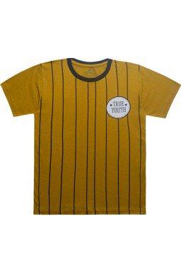 camiseta de listra caramelo