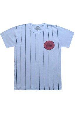 camiseta de listras branca