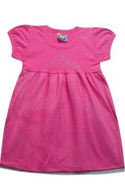 ref 6280 vestido de manga tule rosa