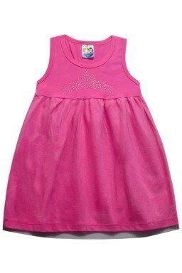 ref 6287 vestido regata rosa c tule