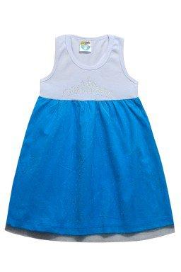 ref 6289 vestido regata azul c tule