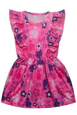 ref 6172 vestido rosa escuro