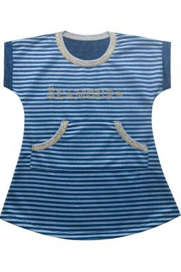 ref 6171 vestido azul
